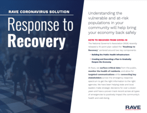 coronavirus recovery solution for state and local resource preview