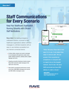 healthcare staff communications resource preview