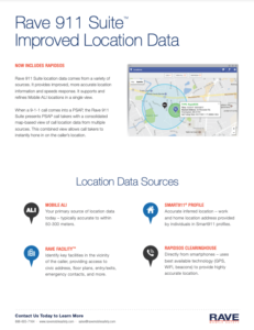rave 911 suite location data resource preview