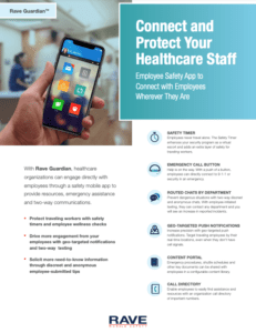 rave guardian app healthcare resource preview