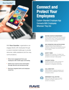 rave guardian corporate employee safety app resource preview