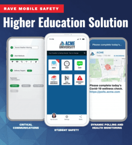 rave higher education solution resource preview