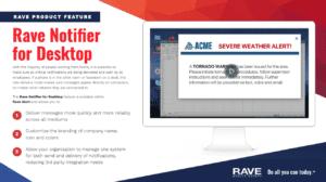 rave notifier for desktop resource preview