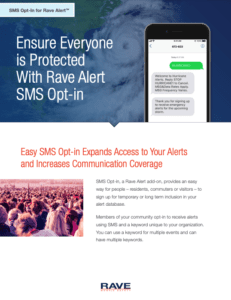 rave state and local sms opt-in resource preview
